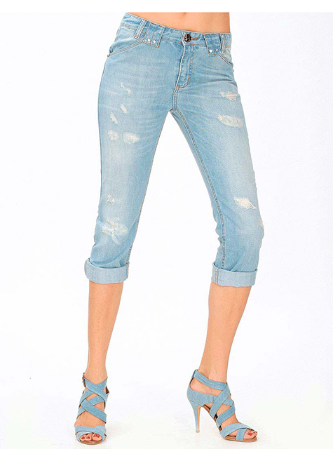 Women's short jeans (MY-WS029)